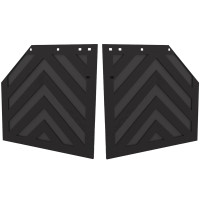 "24"" x 24"" Chevron Heavy Duty Mud Flap Pair"