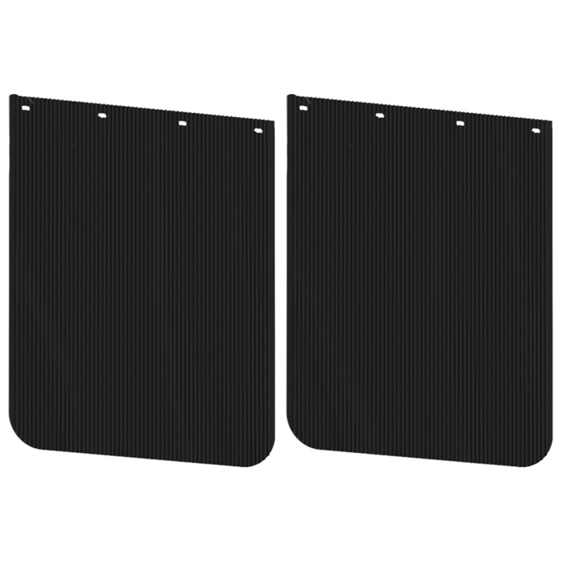 "24"" x 30"" Anti-Spray Heavy Duty Mud Flap Pair"
