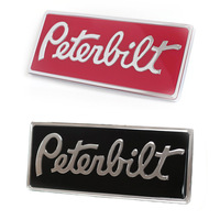 Peterbilt Rectangular Logo Emblem Options