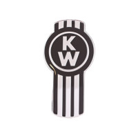 Black Original Kenworth Logo Tractor Trailer Air Brake Knob