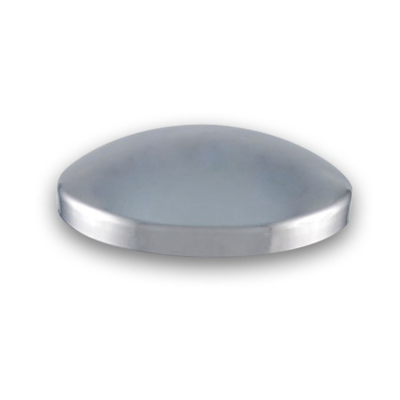 Replacement Dome Chrome Plastic Rear Hubcap