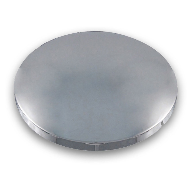 Replacement Dome Chrome Plastic Front Hubcap