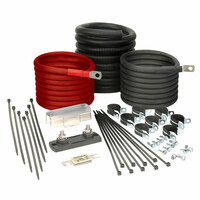Tundra 1500 Watt Power Inverter Installation Kit