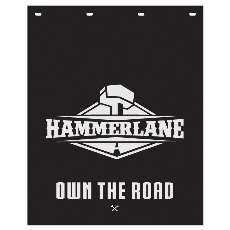 "Hammer Lane Logo Mud Flap 24"" x 30"""