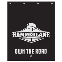 "Hammer Lane Logo Mud Flap 24"" x 30"""
