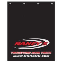 """Raneys Logo Mud Flap 24"""" x 30"""""""
