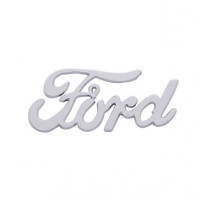 Ford Vintage Chrome Emblem