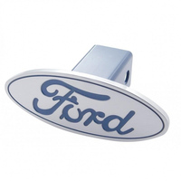 "Ford Logo Hitch Cover 2"" x 2"" Trailer Hitch Receivers"