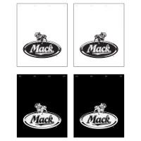 Mack Logo Poly Mud Flap