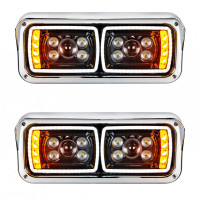 Black Out Headlight Full Set