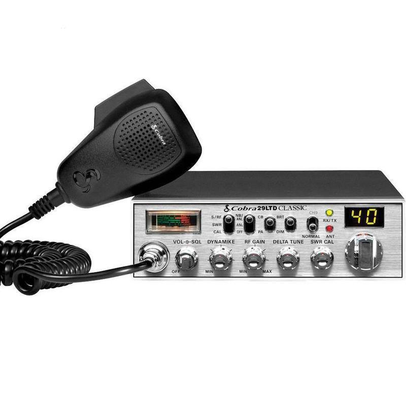 Cobra 29 LTD Classic CB Radio With Delta Tune