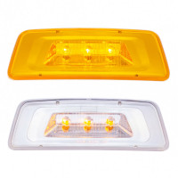 Kenworth T680 T700 T800 3 LED Turn Signal Parking Light
