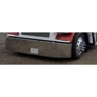 "Peterbilt 378 379 20"" Tapered American Roadrunner Blind Mount Plate Bumper - Side"