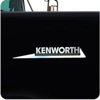 Kenworth Stainless Steel Slash Emblem Trim