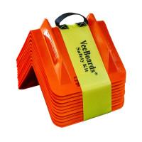 VeeBoards Heavy Duty Reflective Cargo Corner Protector Safety Kit