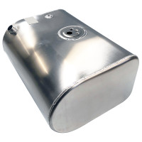 International 4300 4400 Aluminum Replacement Driver Side 55 Gallon Fuel Tank