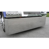 Peterbilt 359 379 388 389 567 Stainless Steel Bumper By Roadworks Front
