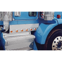 Kenworth T800 Kick Panels Split Fender