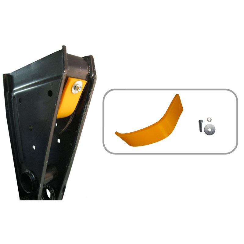 Fruehauf Pro-Par Trailer Front Hanger Suspension Warepad With Hanger