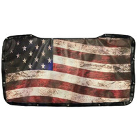 Freightliner Cascadia Old Glory Flag Premium Bug Screen