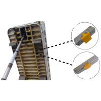 Universal Undercarriage Dump Body Poly Box Pads On Dump Box