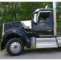 "Kenworth T680 T880 W990 Day Cab 8"" Drop Visor Side Of Truck"