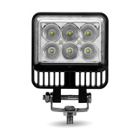 Double Face 'Radiant Series' Universal LED Spot And Flood Beam Work Light