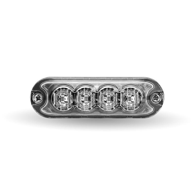 Class 1 Directional Universal 4 LED Slim Surface Mount Strobe Work Light