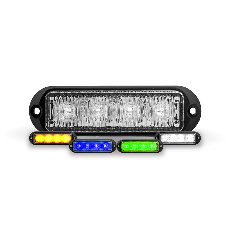 Class 1 Directional Universal LED 4 Color Strobe Work Light