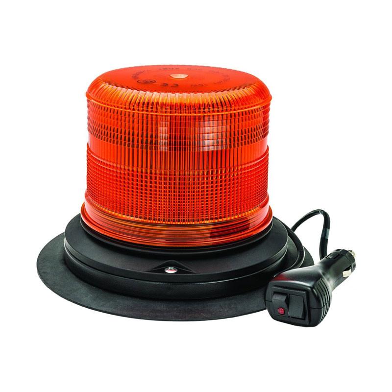 Class 1 Beacon Medium Profile LED Warning Light w/ Cigarette Plug & Dual Switch