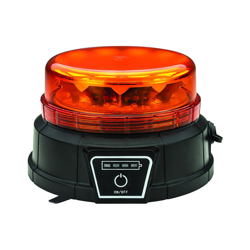 Class 1 Wireless Beacon Low Profile LED Warning Light With Remote