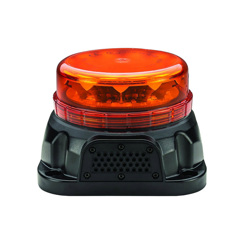 Class 1 Wireless Beacon Low Profile LED Warning Light With Back Up Alarm