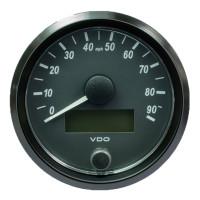 "Semi Truck 3 1/8"" Electrical Speedometer Gauge SingleViu"