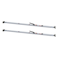 Save-A-Load SL-30 Heavy Duty Trailer Cargo Load Bar Pair With Articulating Ends