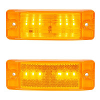 Rectangular 6 LED Clearance Marker Light By Grand General