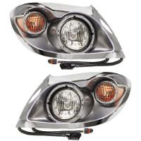International Workstar Chrome Headlights