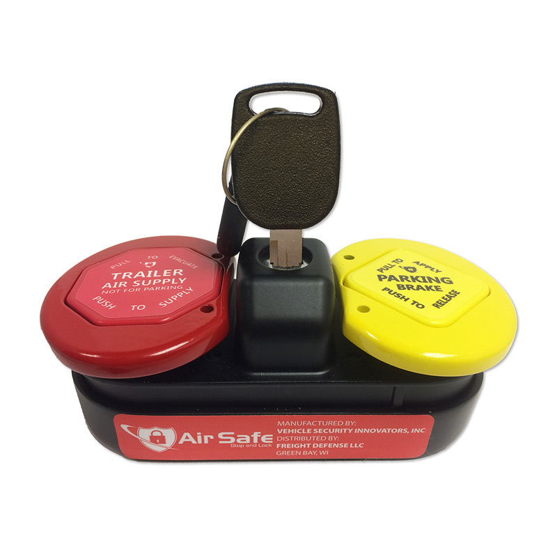 Air Safe Tractor & Trailer Anti-Theft Air Brake Lock