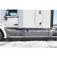 "Peterbilt 567 579 80"" Sleeper Panels With Extensions And M5 Lights"