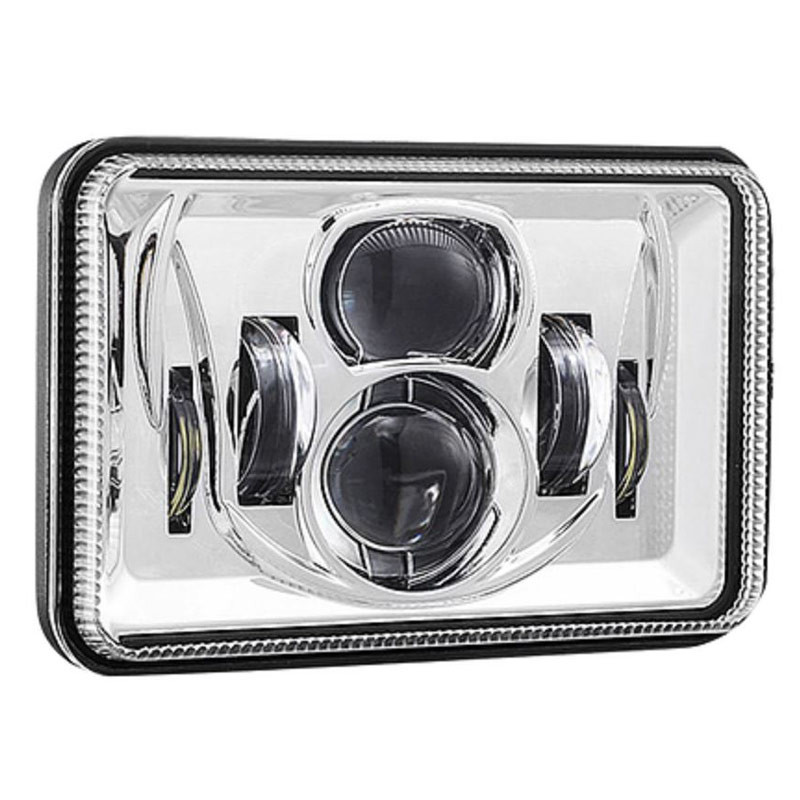 "4"" x 6"" LED Combination High & Low Beam Projector Headlight - Off"