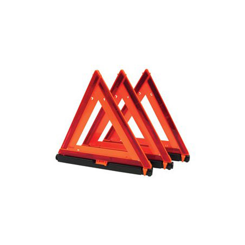 Emergency Warning Triangle 3-Pack By Aeropro