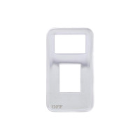 International Stainless Steel Small Paddle Switch Plate