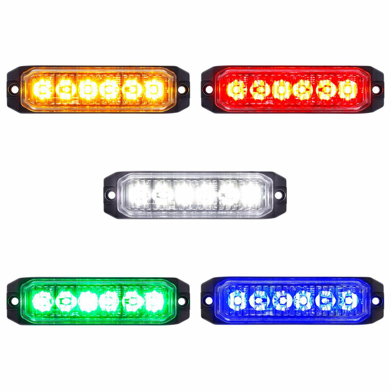 High Power LED Competition Series Slim Warning Light - Default
