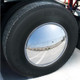 Chrome Aero Full-Moon Rear Axle Cover Kit - On Truck