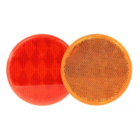 "3"" Round Stick On Reflector With Adhesive Tape By Grand General"