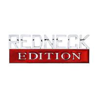 Chrome Plated Plastic Redneck Edition Accent Emblem