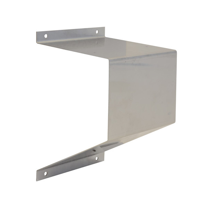 Stainless Steel Beacon Mount Bracket Front View