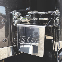 Peterbilt IFTA Stainless Steel Permit Holder Front View