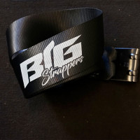 Blackout Ratchet And Strap Kit By Big Strappers - Strap