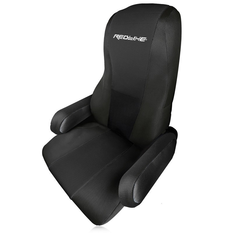 Kenworth T680 T880 Form Fitting Factory Seat Cover - Black