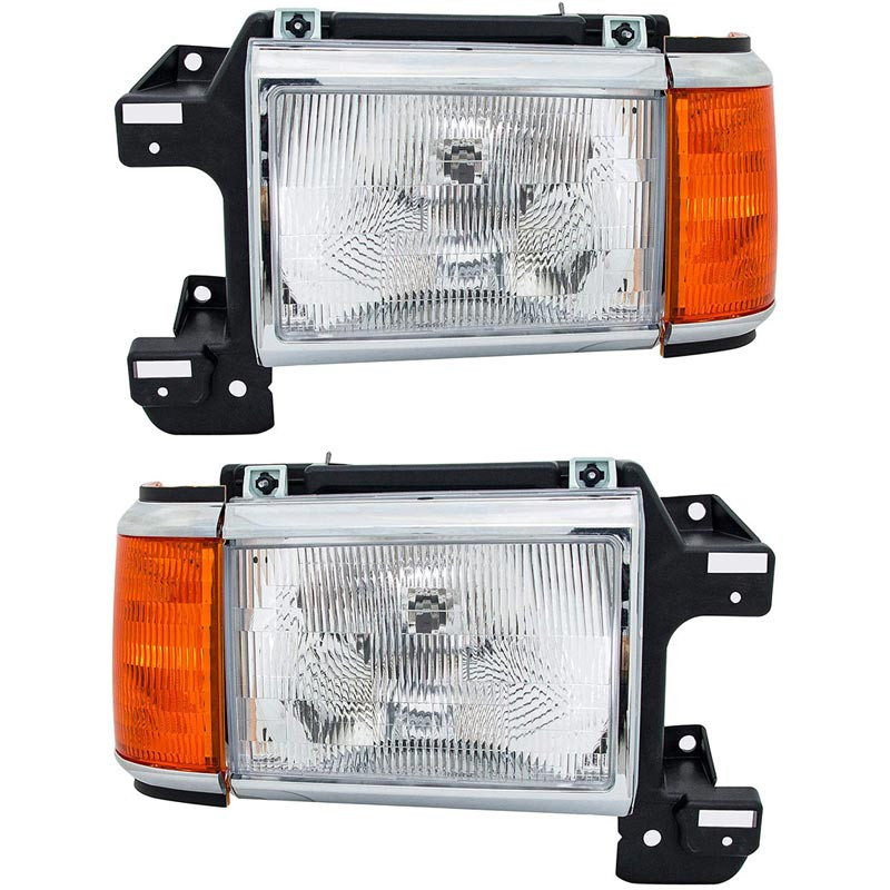 Ford F Series Bronco Headlight Assembly (Pair)